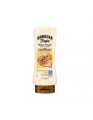 Hawaiian Tropic Sheer Touch Lotion Sunscreen, Ultra Radiance SPF 15, 8 oz (Pack of 2)