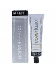 Redken Cover Fusion Low Ammonia - 4nn Natural By for Unisex - 2.1 Ounce Hair Color, 2.1 Ounce