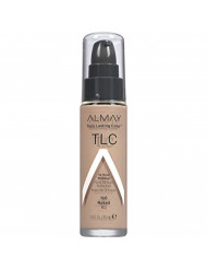 Almay Truly Lasting Color Liquid Makeup, Hypoallergenic, Cruelty Free, Oil Free, Fragrance Free, Dermatologist Tested, Long Wearing Foundation, 1oz, 160 Naked