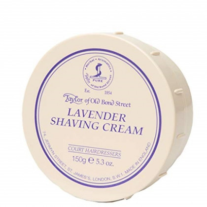 Taylor of Old Bond Street Lavender Shaving Cream Bowl, 5.3-Ounce