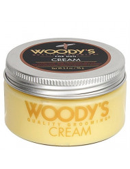 Woody's Grooming: Quality Grooming Hair Styling Cream, 3.4 oz