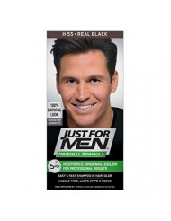 Just For Men Shampoo in Real Black Color (Case of 6)