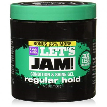 Softsheen Carson Let's Jam Shining And Conditioning Gel, 5.5 Ounce