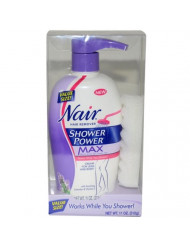 Nair Shower Power Max Women Hair Remover, 11 Ounce