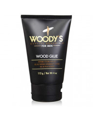 Woody's Wood Glue Extreme Styling Gel for Men, 4 Ounce