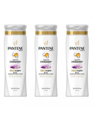 Pantene Pro-V Volume 2-In-1 Shampoo & Conditioner 12.6 Fl Oz (Pack of 3)