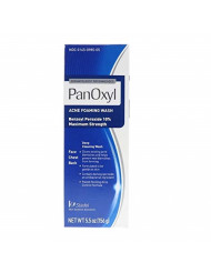 PanOxyl Foaming Acne Wash Maximum Strength 5.5 Ounce (Value Pack of 5)