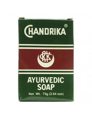 Chandrika Bath Soap Ayurvedic - 75 Grams, 10 Pack