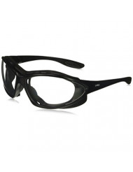 Uvex S0600D Seismic Safety Eyewear, Black Frame, Clear Dura-Streme Hardcoat/Anti-Fog Lens/Headband