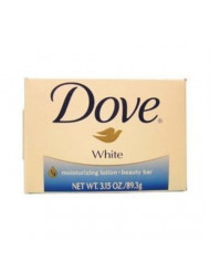 White Moisturizing Cream Beauty Bar Dove 3.15 oz Soap(3 pack)