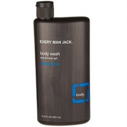 Every Man Jack Body Wash, Signature Mint 16.9-ounce