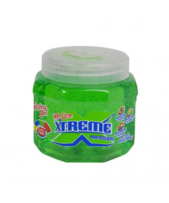 Xtreme Professional Wet Line Styling Gel Extra Hold Green, 8oz
