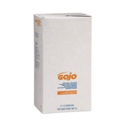 Go-Jo Industries 7556-02 Hand Cleaner with Pumice Scrubbing Particles, 5000 mL Refill