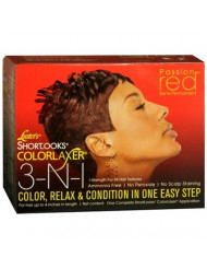 Luster's Shortlooks Color Relaxer 3-n-1 Red, 1count