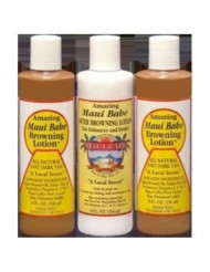 Hawaii Maui Babe Value Pack 2 Browning & 1 After Sun 8 oz. bottles
