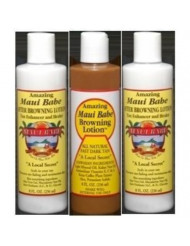 Hawaii Maui Babe Value Pack 1 Browning & 2 After Sun 8 oz. bottles