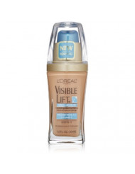 L'Oreal Paris Visible Lift Serum Absolute Foundation, Natural Buff, 1 Fl Oz (1 Count).