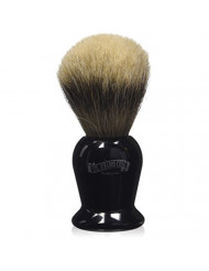 Colonel Conk Products 920 Silver Tip Badger Brush with black Handle