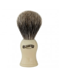Colonel Conk Products 907 Pure Badger Brush with faux Ivory Handle