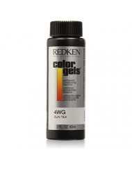 Redken Color Gels Permanent Conditioning 4WG Sun Tea Hair Color for Unisex, 2 Ounce