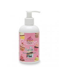 Primal Elements Hand and Body Cream Shea Butter Lotion, 8 OZ, Cupcake