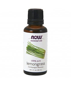 NOW Lemongrass Oil, 1-Ounce (Pack Of 2)
