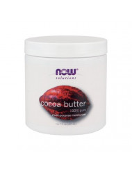 Now Foods Cocoa Butter (100% Pure) - 7 oz. 8 Pack