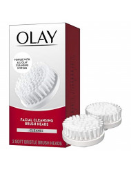 Facial Cleaning Brush by Olay ProX by Olay Advanced Facial Cleansing System Replacement Brush Heads, 2 Count Packing may Vary