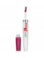 Maybelline SuperStay 24 2-Step Liquid Lipstick Makeup, Reliable Raspberry, 1 kit