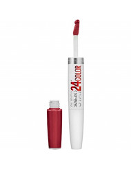 Maybelline SuperStay 24 2-Step Liquid Lipstick Makeup, Keep Up The Flame, 1 kit