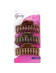 Goody Large Claw Clips 3 ea