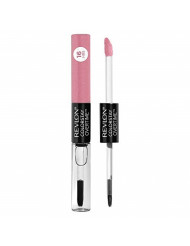 Revlon Colorstay Overtime Lipcolor, Longwearing Liquid Lipstick with Clear Lip Gloss, with Vitamin E, In Pink, 410 Forever Pink, 0.8 Oz