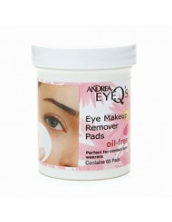 Andrea Eye Q s Oil Free Eye Make-up Remover Pads