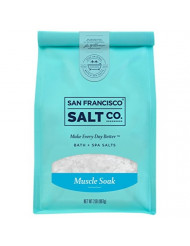 Muscle Soak Bath Salts - 2 lb. Luxury Gift Bag by San Francisco Salt Company