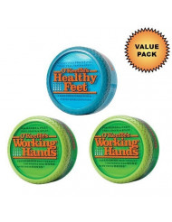 O'Keeffe's Working Hands Cream + O'Keeffe's Healthy Feet Cream :: Value Pack by O'Keeffe's