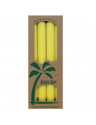 Aloha Bay TAPER CANDLE,9IN,YELLOW