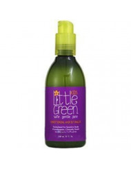 Little Green Kids Conditioning Detangler - Kids Detangler Spray - Safe and Non-Toxic - Use on Wet or Dry Hair - Hypoallergenic - Paraben and Gluten Free - Clinically Tested for Kids - Protects Hair