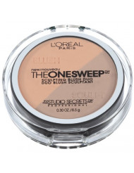 L'Oreal Paris Studio Secrets The One Sweep Sculpting Blush, Nectar, Peach, 0.30 Ounce