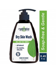 Natralia Dry Skin Wash, Gentle Soap-Free Hand & Body Wash, 8.45 Ounce Bottle