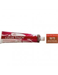 Wella Color Touch 10/73 (Lightest Blonde/Brown Gold) 2oz