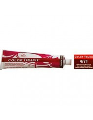 Wella Color Touch 4/71 (Medium Brown/Brown Ash) 2oz