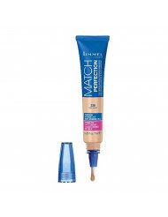 Rimmel Match Perfection 2-in-1 Concealer and Highlighter, Fair Light, 0.23 Ounce