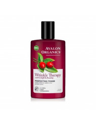 Avalon Organics Wrinkle Therapy with CoQ10 & Rosehip Perfecting Toner 8 oz