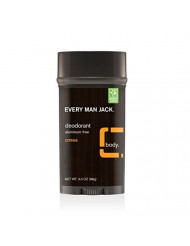 Every Man Jack Deodorant, Citrus, 3.0-ounce