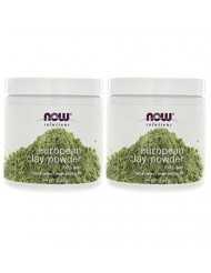 Solutions European Clay Powder Now Foods 6 oz Powder (Pack of 2)