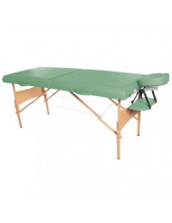 "3B Scientific W60602G Green Deluxe PorTable Massage Table, 72.5"" Length x 29"" Width"