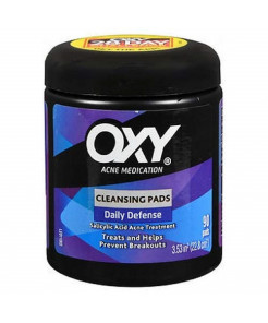 OXY Daily Defense Cleansing Pads 90 Each (Pack of 2)