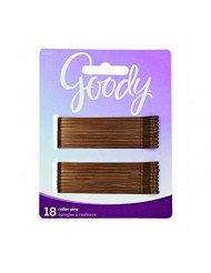 "Goody Styling essentials bobby Pins, Brown, 3"", 18Count (Pack Of 6)"
