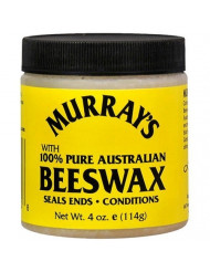Murray's Yellow Beeswax, 4 Ounce (Pack of 3)