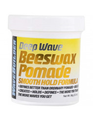 WaveBuilder Deep Wave Beeswax Pomade   Defines Better Than Ordinary Pomade to Promote Hair Waves, 3 Oz